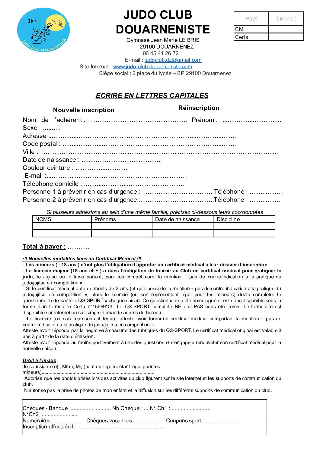 fiche inscription 2021 2022 1 pdf - Accueil